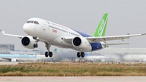 COMAC on takeoff