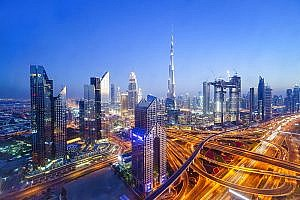 Dubai is known for its flawless infrastructure