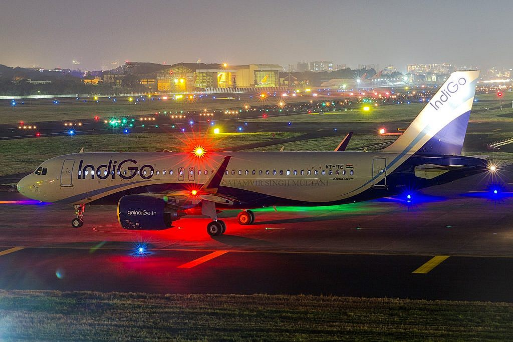 IndiGo A320 Neo ready for departure
