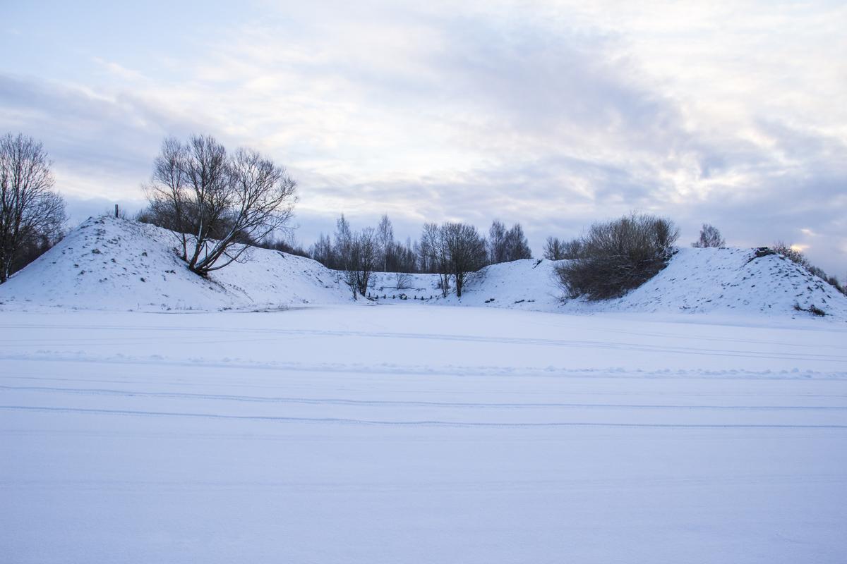Air Field Raadi in Tartu in Estonia