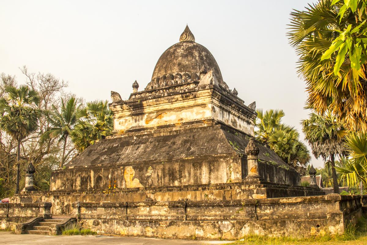 The Water Melon Stupa at Wat Visounarth in Luang Prabang, Laos