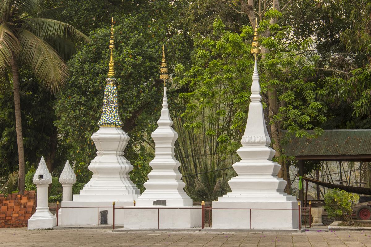 Wat Aham Qutama Thang temple in Luang Prabang, Laos
