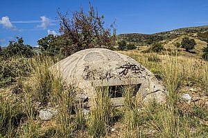 A Hoxha Bunker in Albania