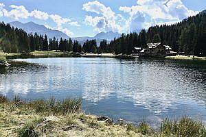 Lago Nambino in Madonna di Campiglio, Italy