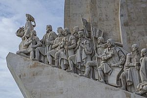 Monument to the Discoveries in Belem, Lisbon