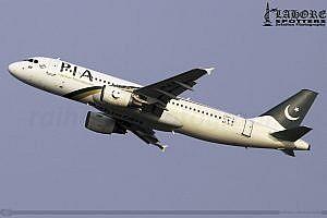 Pakistan International Airlines Airbus 320