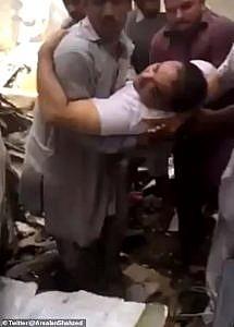 Survivor pulled from Pakistan crash scene