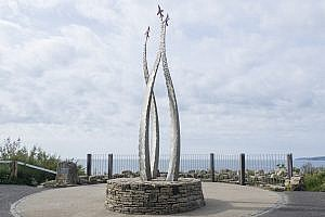 Red Arrows Memorial in Bournemouth, Dorset