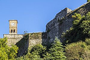 The Fortress of Ali Pasha in Gjirokaster, Albania