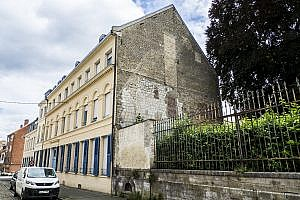 The Old Hospital Building in Saint-Omer, France