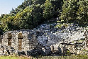 The Ruins at Butrint in Albania
