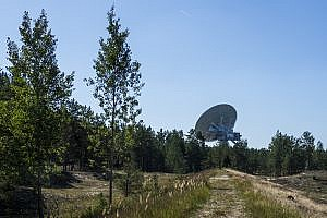 Ventspils International Radio Astronomy Centre in Latvia