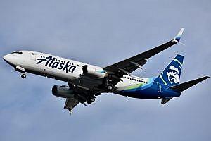 Alaskan Airline Boeing 737
