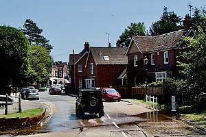Brockenhurst in the New Forest in Hampshire, England