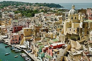 Island of Procida in Italy