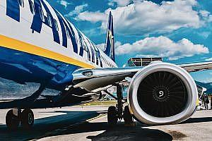 Ryanair Plane on Stand