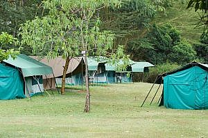 Tented Accommodation at Enonkishu Conservancy in Kenya
