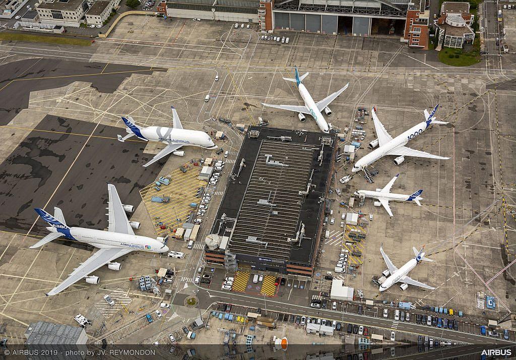 Airbus Fleet Top-view