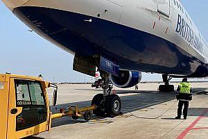 British Airways B777 Loading