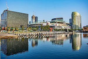 Melbourne in Victoria, Australia