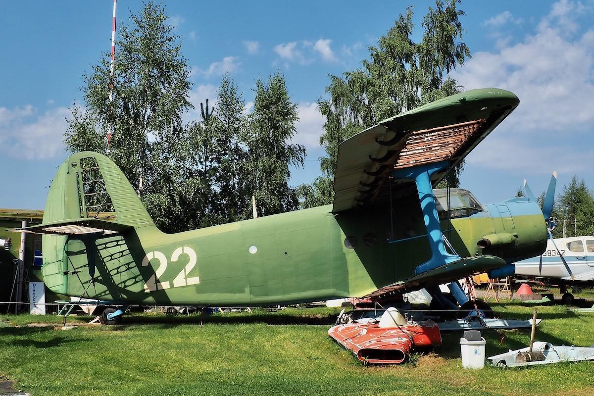 Antonov An-2 at the Aviation Museum in Riga, Latvia
