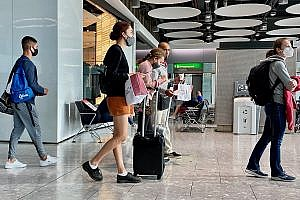 Boarding Gate in Terminal 5 at Heathrow