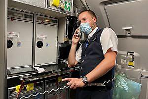 James Scarle, British Airways Cabin Crew