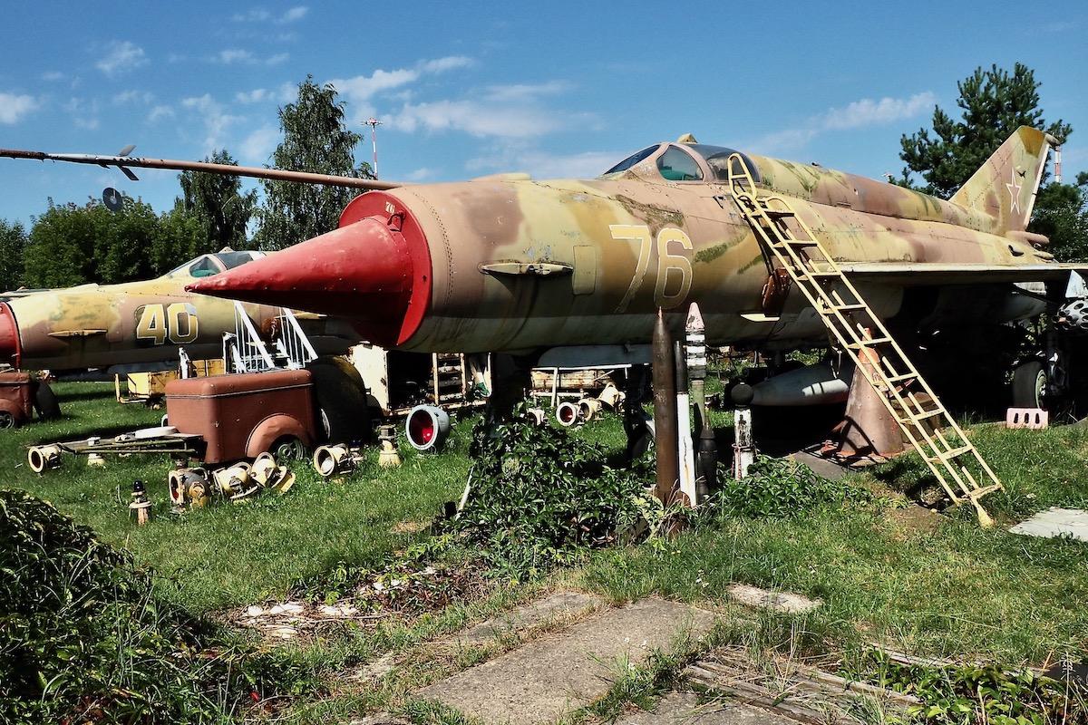 MiG-21SMT Fishbed-K at the Aviation Museum in Riga, Latvia