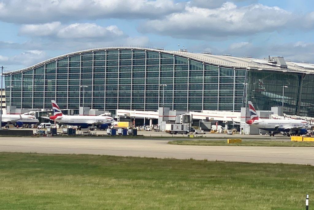 Terminal 5 at London Heathrow