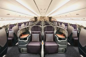 Business Class on SIA Airbus A380
