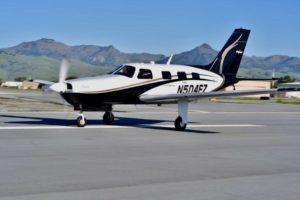 ZeroAvia hydrogen-powered aircraft