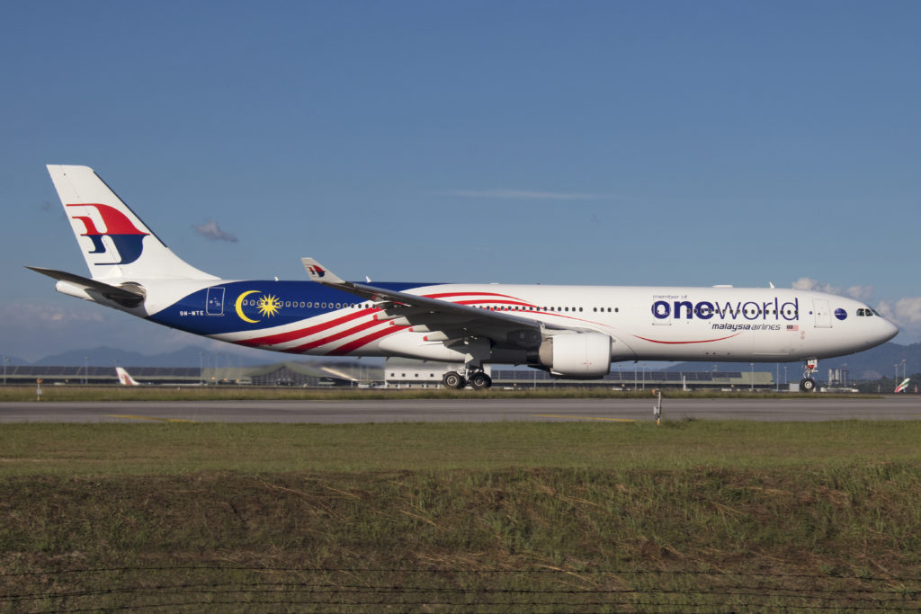Malaysia Airlines Airbus A35-941