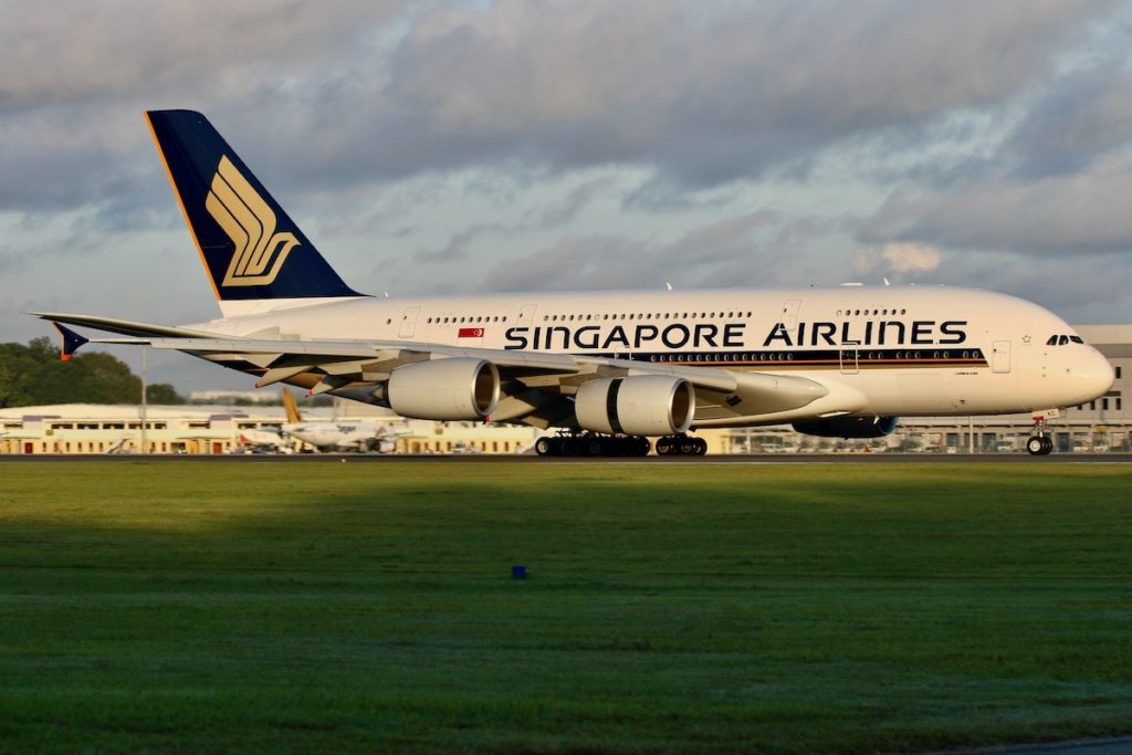 Singapore International Airlines Airbus A380