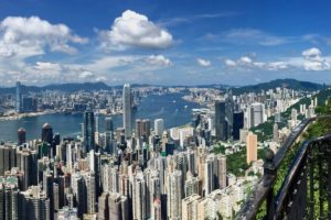 View of Hong Kong from the Peak