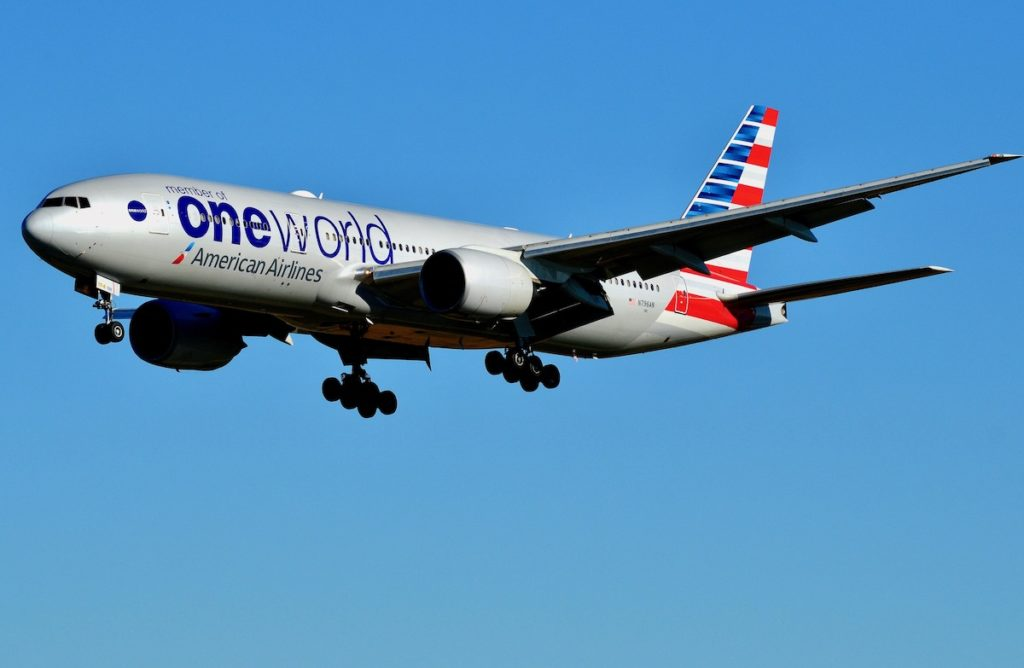 American Airlines Part of the Oneworld Alliance