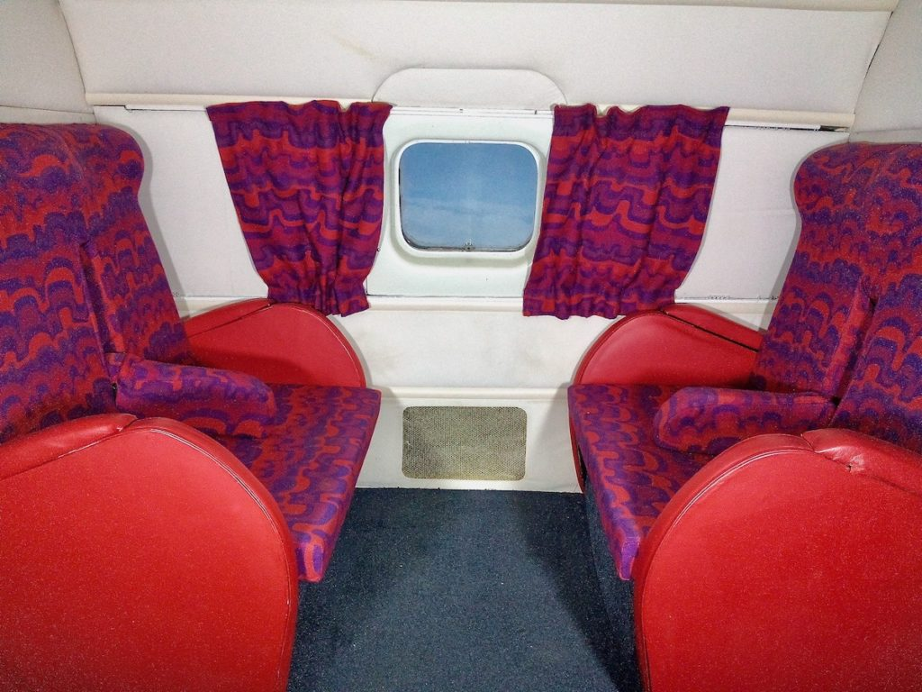 Inside the de Havilland Comet G-ALYY