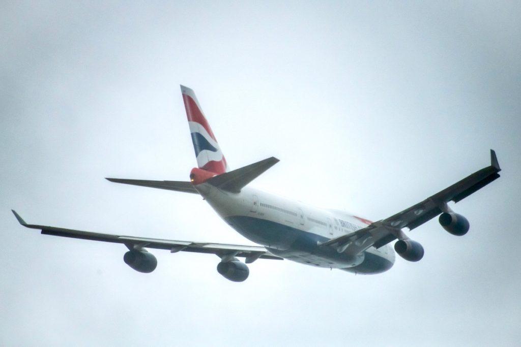 Last British Airways Boeing 747 Leaving Heathrow