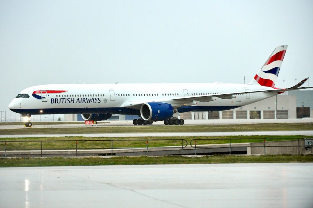 British Airways Airbus A350