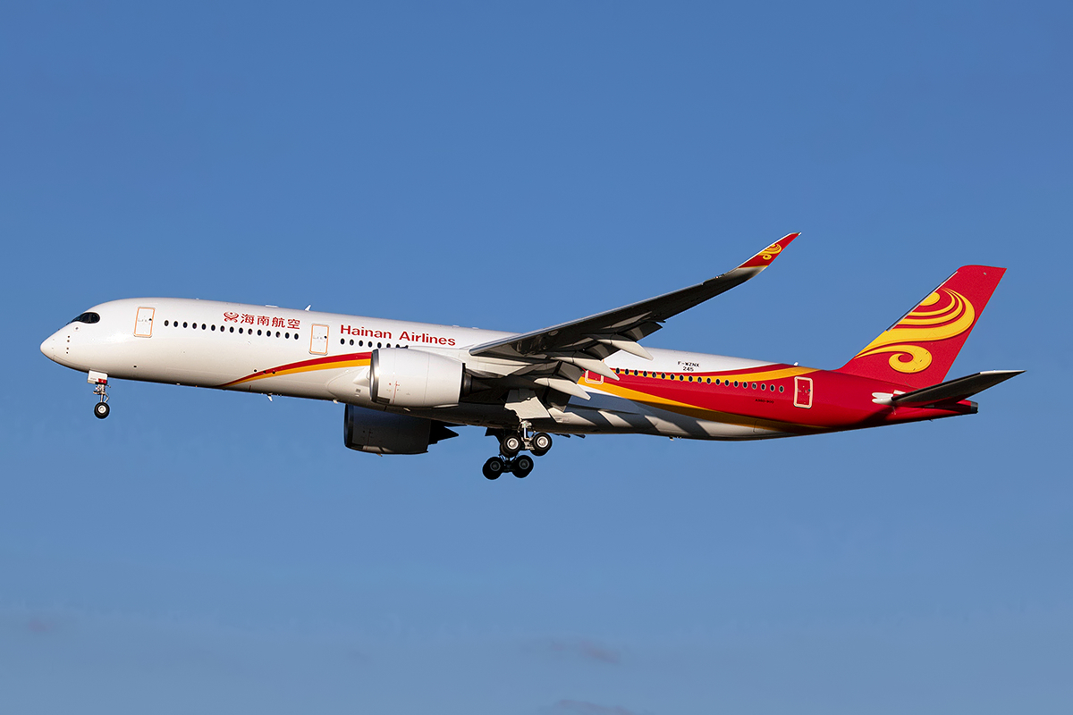 A Hainan Airlines Airbus A350-1000