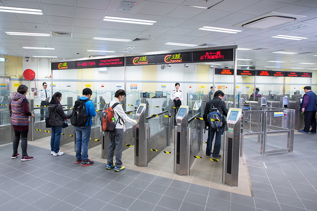 The changes will affect the Chinese-Hong Kong Border