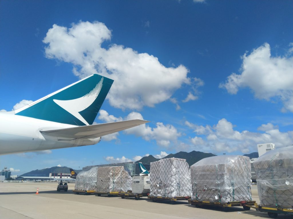 Cathay Pacific Cargo Shipment