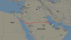 QR1301 Flight-Path