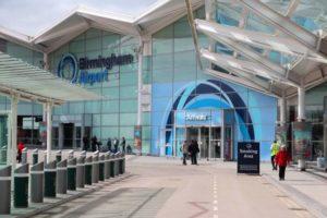 Birmingham Airport Main entrance