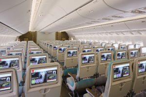 Emirates Boeing 777 200LR Economy Class