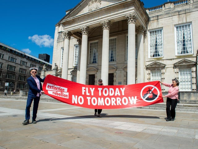Environmental Protests against Leeds Bradford Airport Terminal