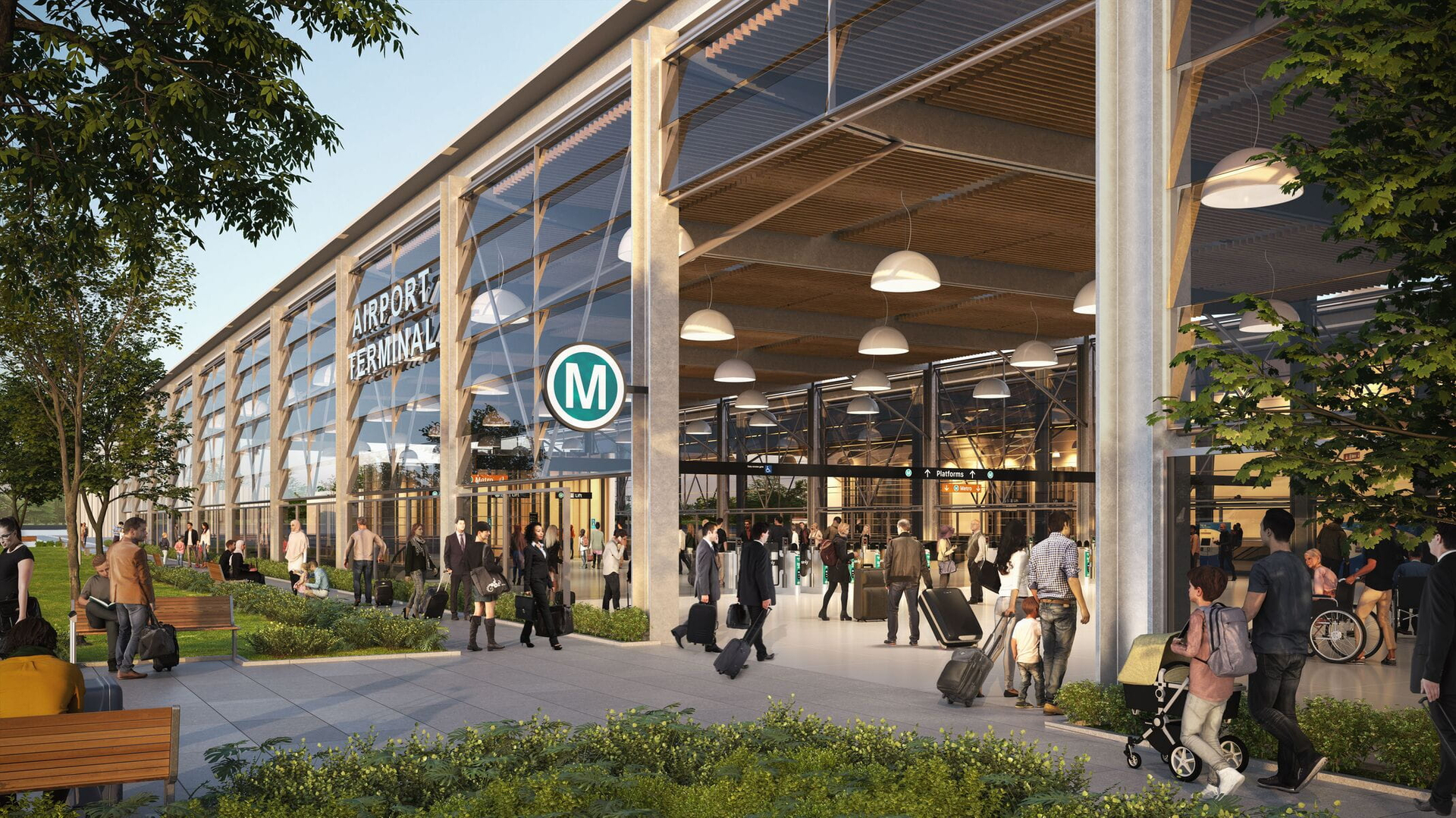 New western sydney metro project