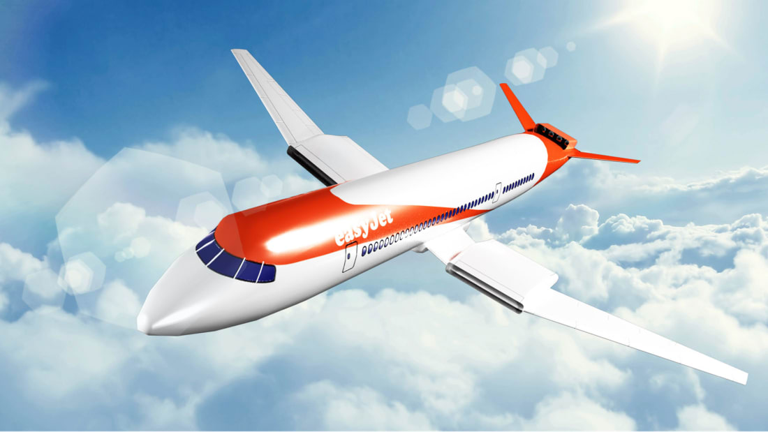Easyjet and Wright Electric plane