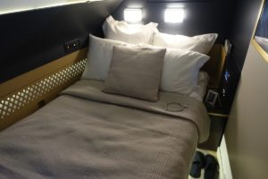 A picture of an Etihad Residence Bed.