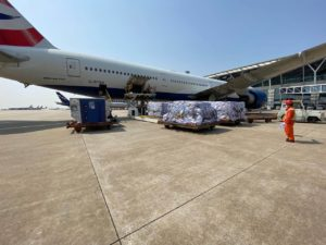 British Airways are amongst many airlines that have increased their cargo flights © British Airways