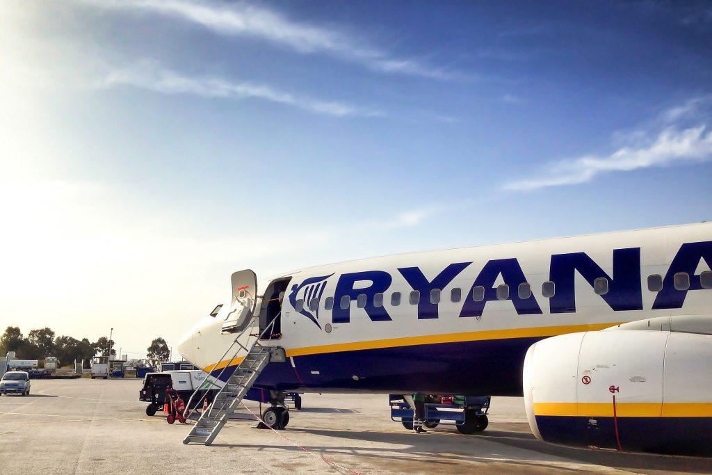 Ryanair at stand. Photo byJanClaus